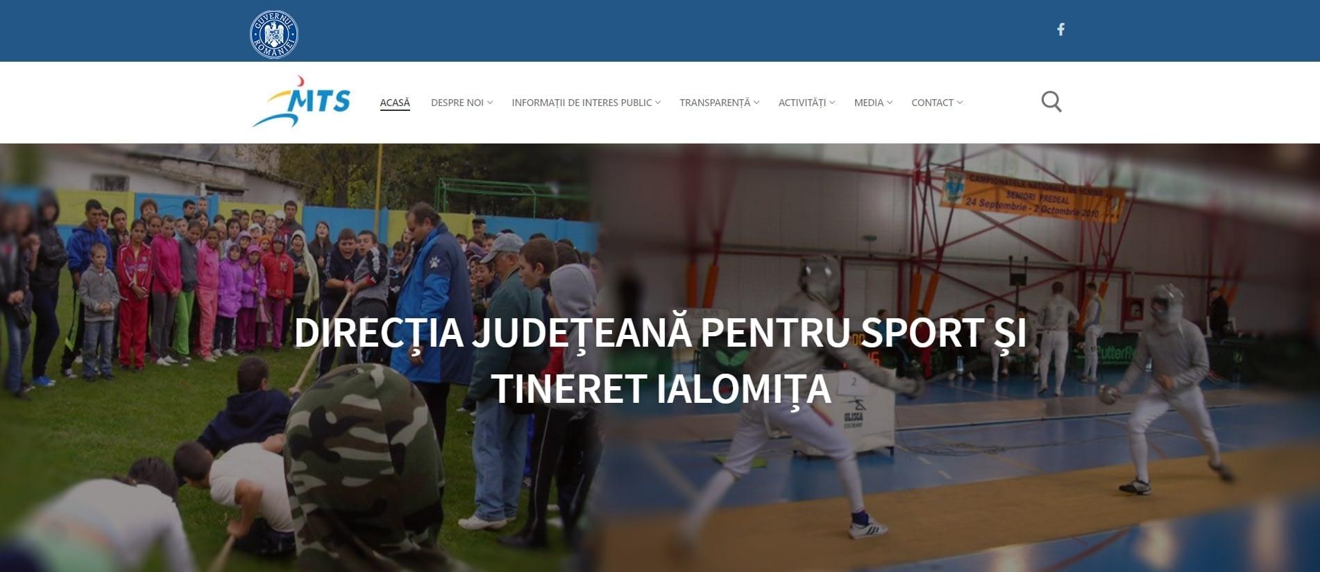 Site de prezentare DJST