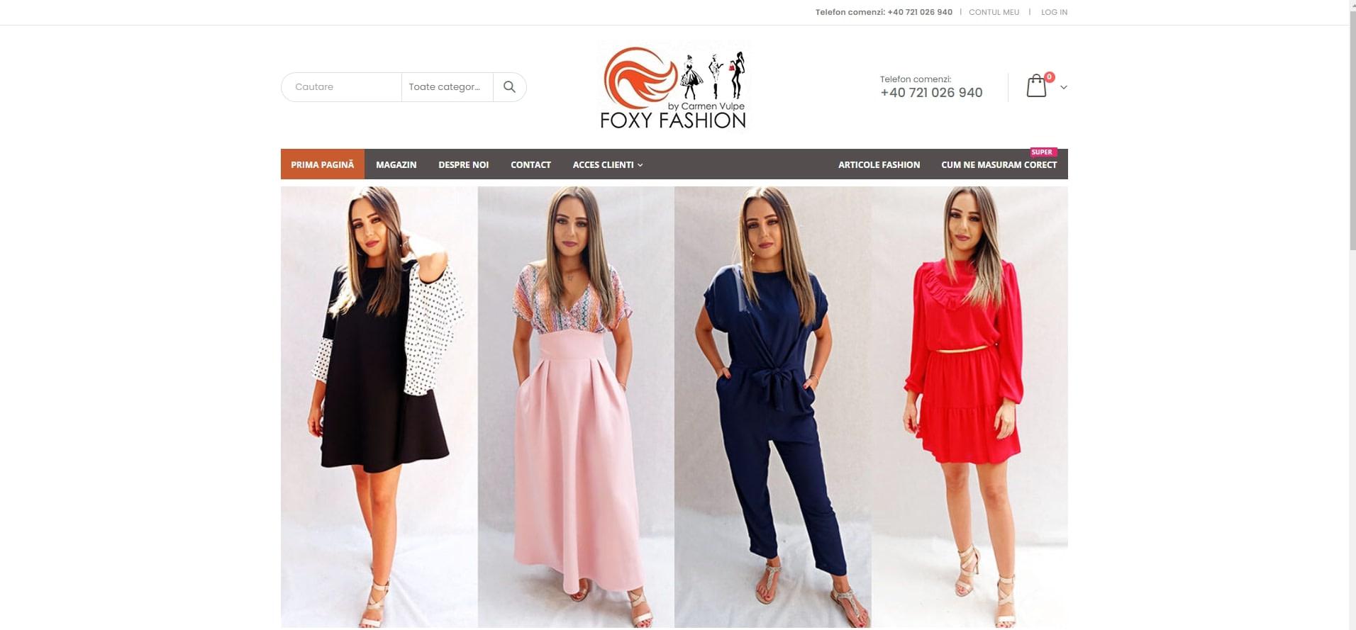 Magazin online Fashion